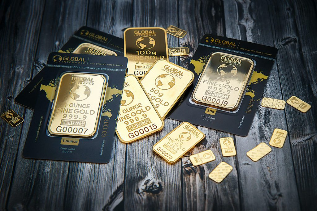 Some stablecoins are backed by gold